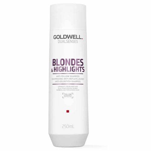 0292D84229F74D94Ffddc6573F948F40 1 Goldwell Dualsenses Blondes And Highlights Anti-Yellow Shampoo 250Ml Splush Online