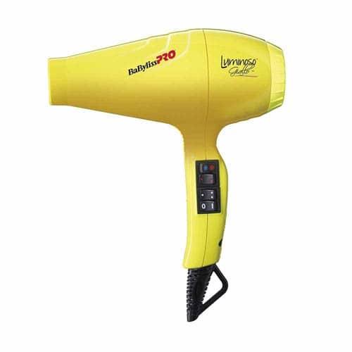 8Debb744Eec6141Cea75F9Eba0105A61 1 Babylisspro Luminoso Yellow 2100W Ionic Hair Dryer Splush Online