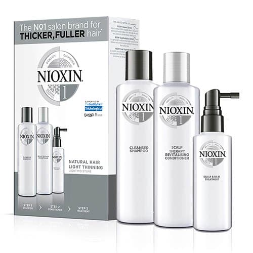 D62F578Eee65036A4A7B6A544F80Fbff 1 Nioxin System No 1 Trial Kit For Natural Hair With Light Thinning Splush Online