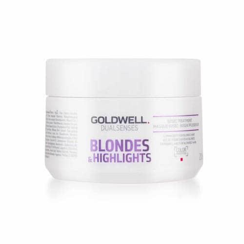 E84C7888901Abfa5Ed971Bd469810B59 1 Goldwell Dualsenses Blondes And Highlights 60 Second Treatment 200Ml Splush Online