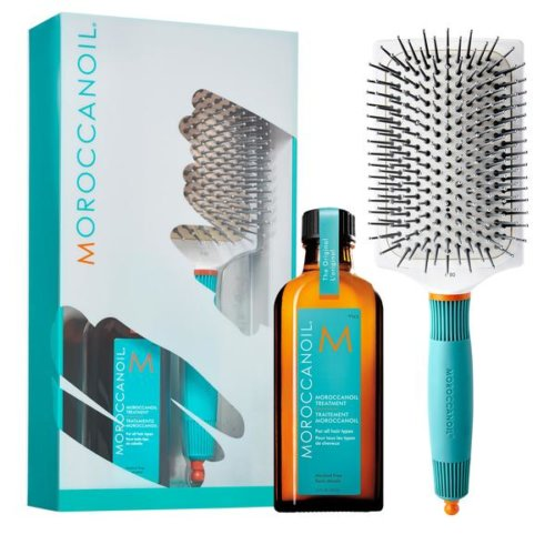 B2Fd963369D34Fd0B729A6Fa5Abe3Cfd Moroccanoil Treatment 100Ml + Ceramic Brush Splush Online