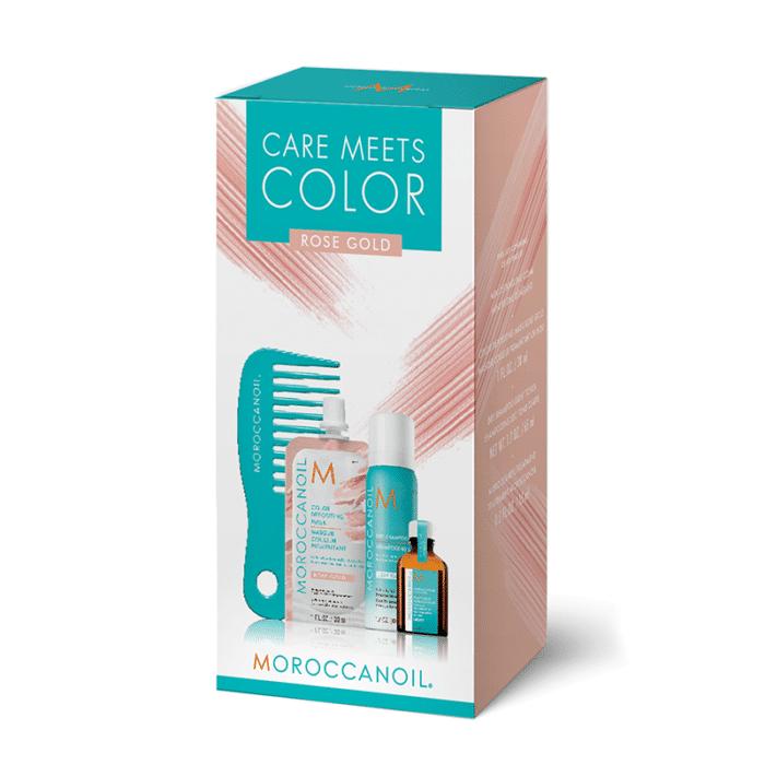 D2397Bafa474F1Ed16Ece3Cd49Cf0Be5 Moroccanoil Care Meets Color Rose Gold Kit Splush Online